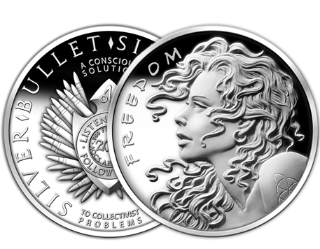 SBSS Freedom Girl Coin